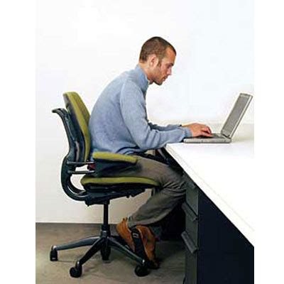 correct posture   computer top