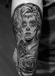 What Does Day of the Dead Tattoo Mean? | Represent Symbolism