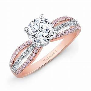 Gorgeous rose gold and white gold wedding rings cherry marry for Gold and white gold wedding rings