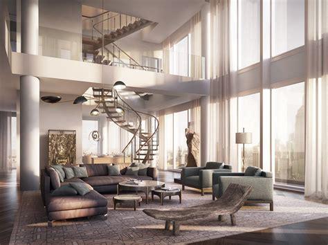 Diseño De Apartamento De Lujo Con Decoración Y Planos