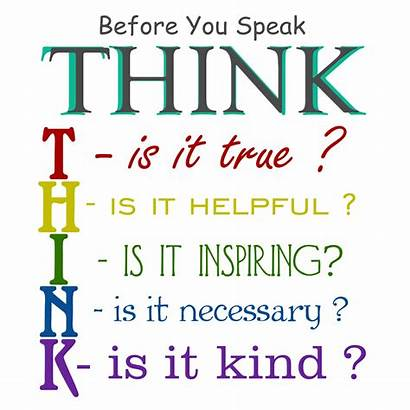 Speak Think Before Quote Digital Quotes Jolanta