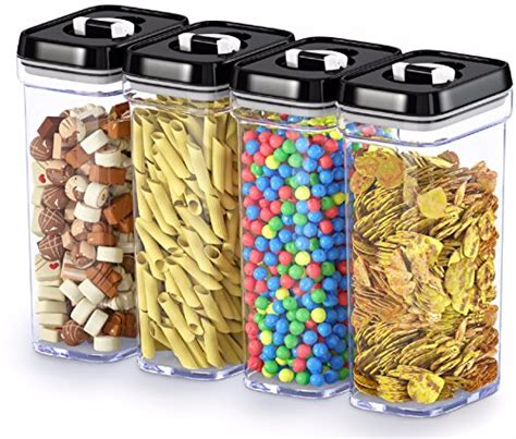 Kitchen Airtight Large Clear Durable Plastic Containers