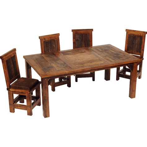 western dining room sets rustic dining furniture sets