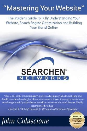 Understanding Search Engine Optimization by New Website Marketing Book Mastering Your Website By
