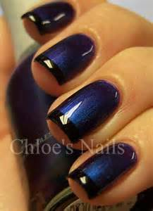 Photos nail art designs blue and purple black paint splatter nails