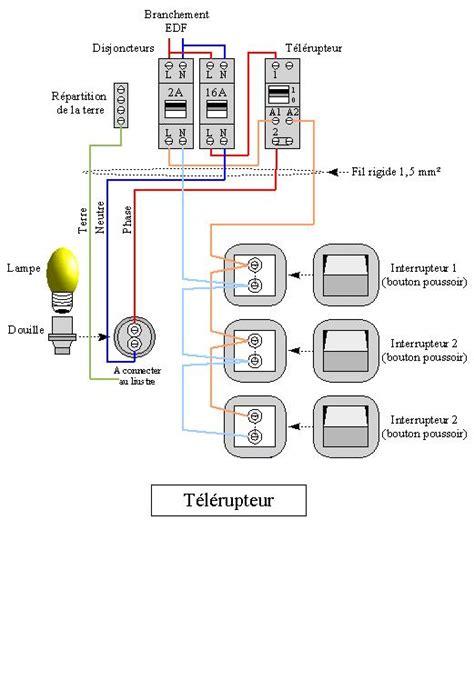 Schema Electrique 3 Interrupteur 2 Lampes