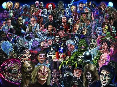 Horror Icons Movies Monster Holloway Craig Posters