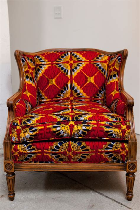 Upholstery Fabrics For Chairs by Print Fabric Upholstered Chair Wax