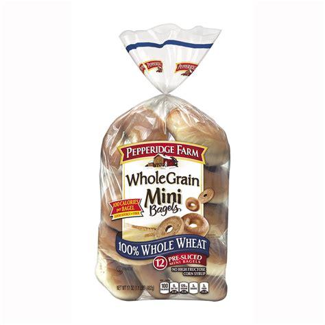 mini   wheat bagels pepperidge farm