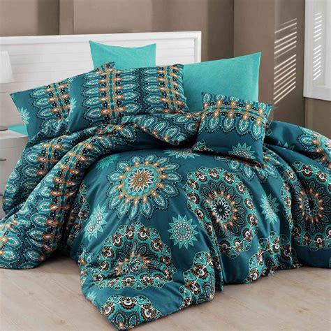 parure de lit bleu nazenin home parure de lit bleu brandalley