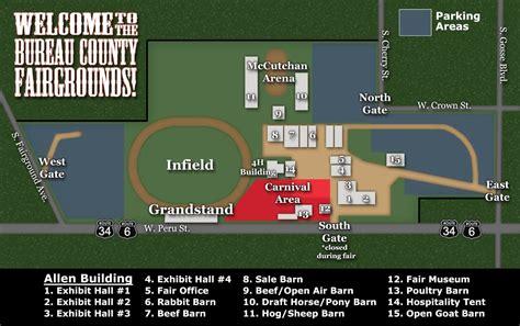 faire bureau 100 illinois state fairgrounds map fair schedule