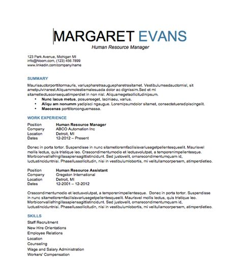 attention to detail resume exles resume format 2017