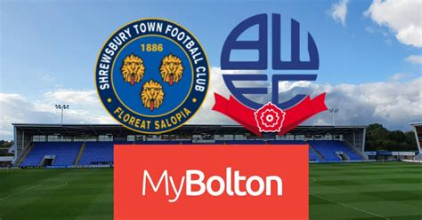 Shrewsbury Town vs Bolton Wanderers LIVE: build-up, team ...