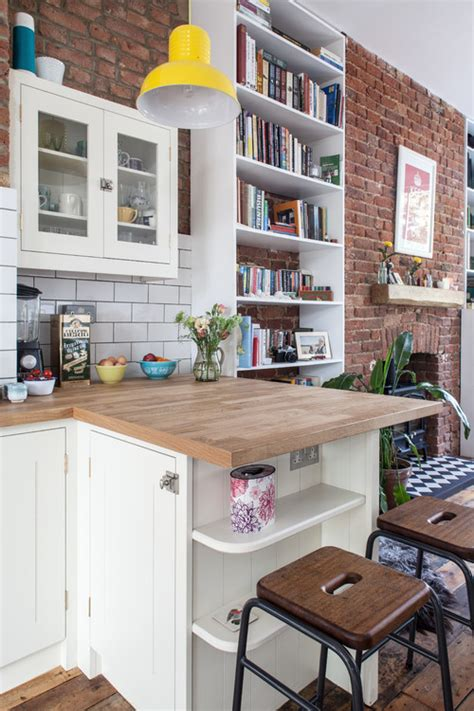 putting an island in a small kitchen 9 ways to make islands and breakfast bars work in small 9744