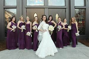 eggplant purple bridesmaids dresses wedding pinterest With eggplant dresses for weddings