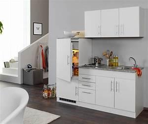 Kleine Küchenzeile Günstig : singlek che berlin mit k hlschrank breite 180 cm wei k che singlek chen ~ Indierocktalk.com Haus und Dekorationen