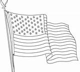 Flag Coloring Outline Printable Drawing Flags Usa Wave Sheets Sheet Bestcoloringpagesforkids Colouring Coloringfolder Drawings Paintingvalley Duathlongijon sketch template