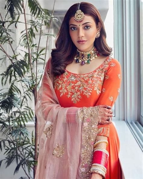Kajal Aggarwal Flaunts Her Traditional view - Photogallery ...