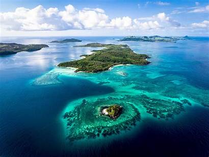 Fiji Island Turtle Pacific South Private Islands