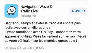 Mettre Waze Sur Carplay : avec waze et maps google arrive en force sur apple carplay tech numerama ~ Maxctalentgroup.com Avis de Voitures