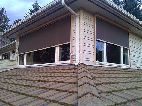 Seattle Outdoor Solar Screens  Sunrise Shading
