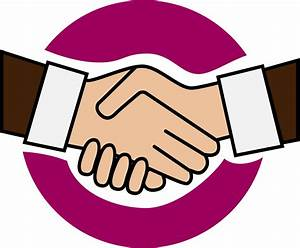 Clipart - A handshake icon
