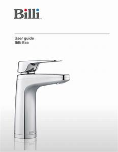 User Guide Billi Eco