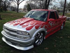 2000 Chevy S10 Ls Ext Cab Xtreme Flames Lowered Hot Rod 58