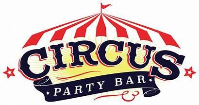 Circus Clipart Party Bar Transparent Logos Webstockreview