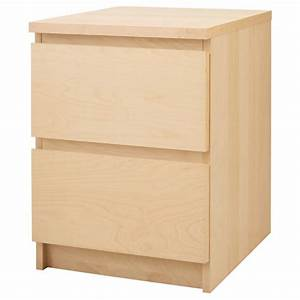 Malm Bedside Table Birch Veneer Woodworking Projects Amp