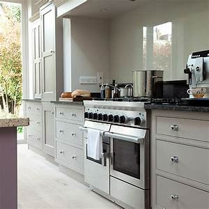 pale grey kitchen with range cooker kitchen decorating With kitchen design with range cooker