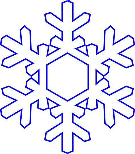Transparent Background Snowflake Silhouette Snowflake Clip by Vector Clipart Snowflake Pencil And In Color Vector