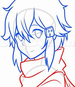 How To Draw Sinon From Sword Art Online 2  Step By Step