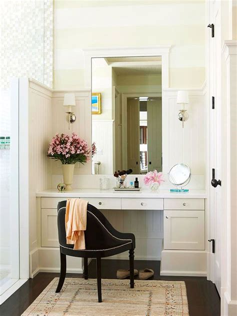 Built In Vanity Cabinets For Bathrooms by Bathroom Makeup Vanity Ideas Bathrooms Bathroom With