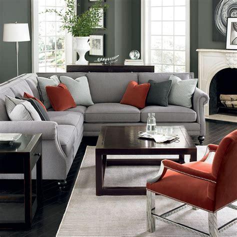 red and grey sofa pinterest nadinevoikos bernhardt living room in grey