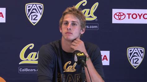 cal football jared goff qb northwestern post game