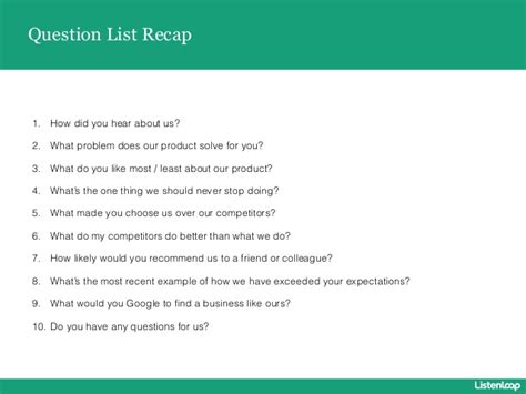 What Did You Like Least About Your by 10 Survey Question You Should Ask Your Customers