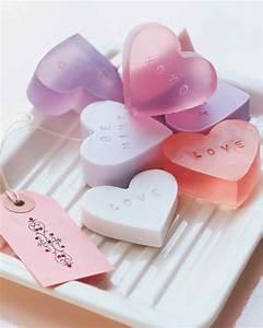 Heart-Shaped Soap | Martha Stewart