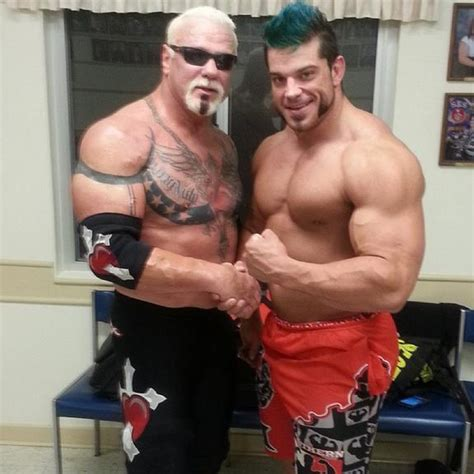 photo big poppa pump scott steiner   chest