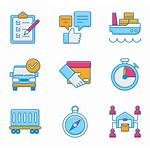 Icon Paste Copy Verified Logistics Vectorified Check