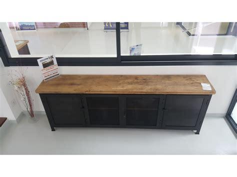 enchanteur meubles industriels pas cher avec console daco galerie photo meuble industriel
