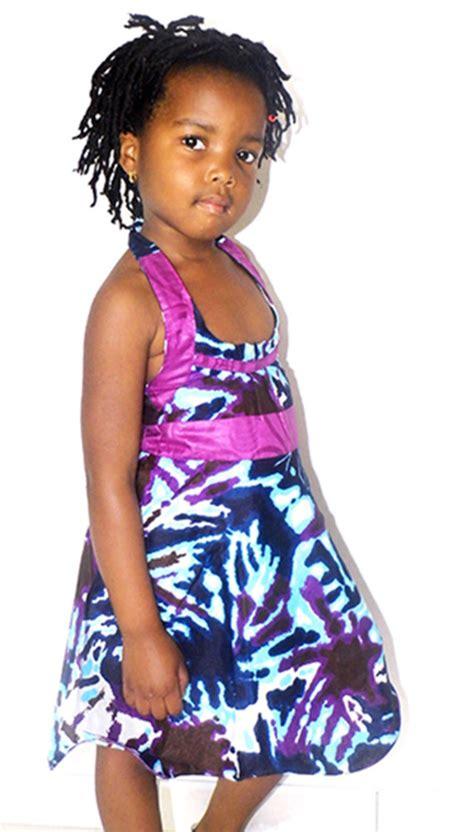 modele de robe en pagne pour fillette