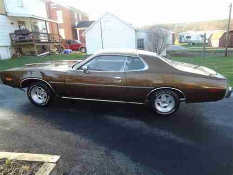 Brown Chrysler Dodge by Buy Used 1973 Dodge Charger Base Automatic Brown Mopar 318