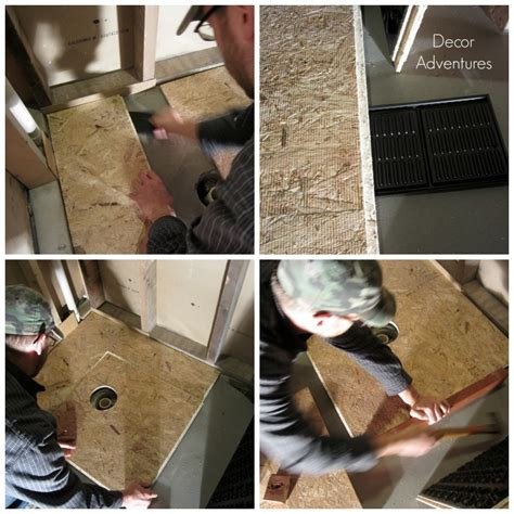 install subfloor working with dricore subfloor in a basement 187 decor adventures