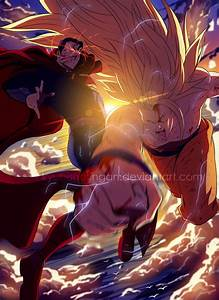 Superman~vs~Goku by kyubisharingan on DeviantArt
