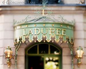 Paris: Tea at Ladurée @ Georgianna Lane