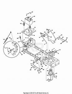 Troy Bilt 13wm77ks011 Pony  2015  Parts Diagram For Frame