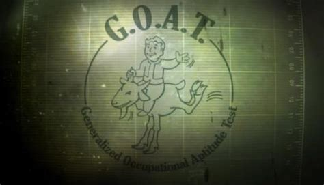 fallout  goat test easter egg  fallout  ng