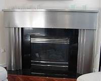 stainless steel fireplace surround Stainless Steel Fireplace Surround | NeilTortorella.com