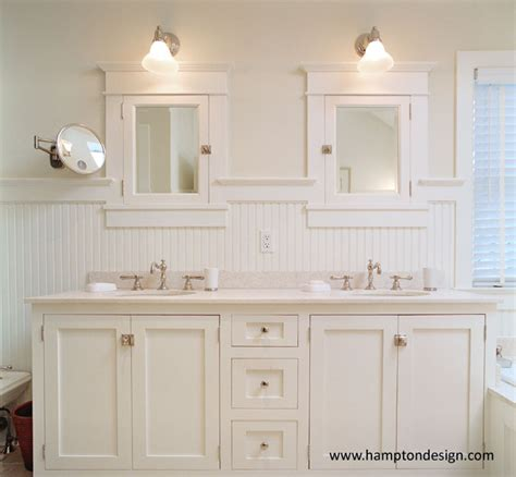 Brushed Nickel Medicine Cabinet With Mirror by Mission Cabinets Cottage Bathroom Hampton Design